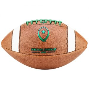 Team Issue Official High School Football | Money Ball | Team Green Metallic