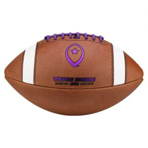 Team Issue Official High School Football | Money Ball | Team Purple Metallic