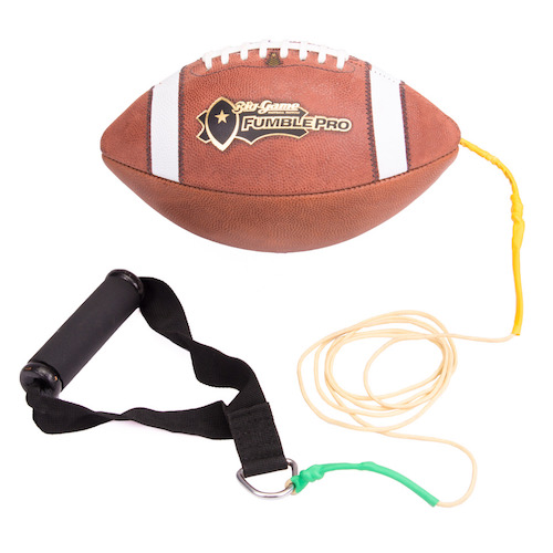 FumblePro Sprint Handle - Leather Football